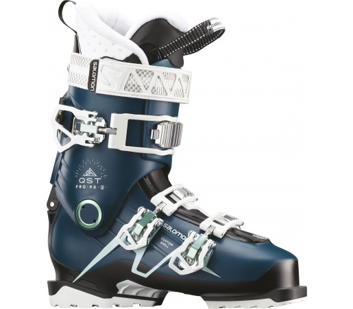 Clapari Ski Femei Salomon Qst Pro 90 Albastru 2019