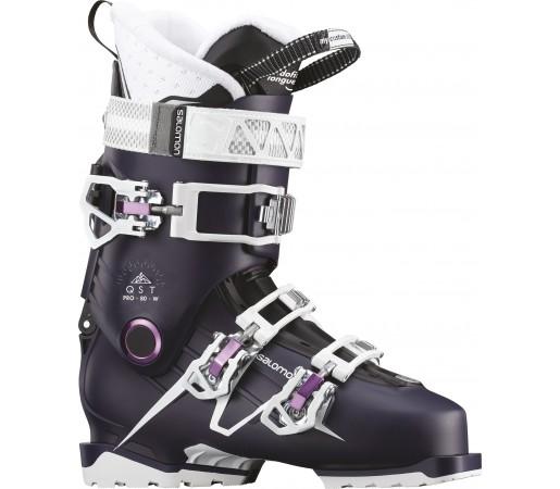 Clapari Ski Femei Salomon Qst Pro 80 Visiniu 2019