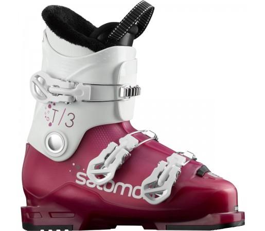 Salomon Clapari Ski T3 RT Girly Copii Roz