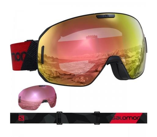 Salomon Ochelari Ski S/MAX PHOTO SIGMA Bk-Rd/AW PR Unisex Portocaliu
