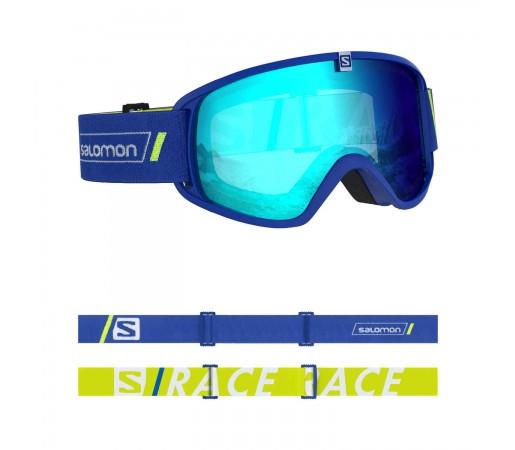 Salomon Ochelari Ski Copii TRIGGER Race Blue/Uni Mid Blue (Bleu)