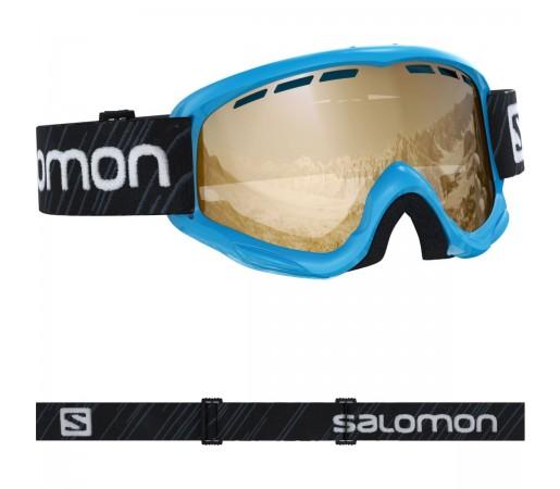 Salomon Ochelari Ski JUKE ACCESS Blue/Univ Tonic O Copii Negru
