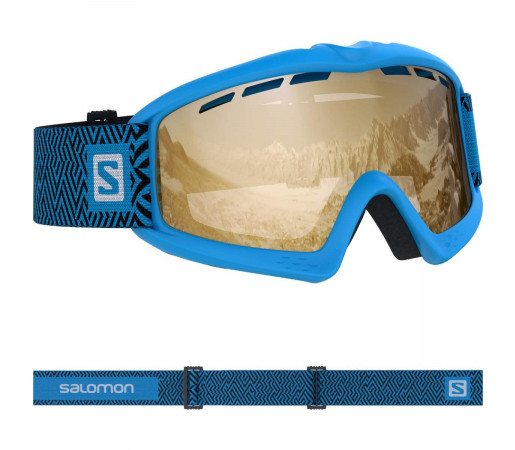 Salomon Ochelari Ski KIWI ACCESS Blue/Univ Tonic O Copii Albastru