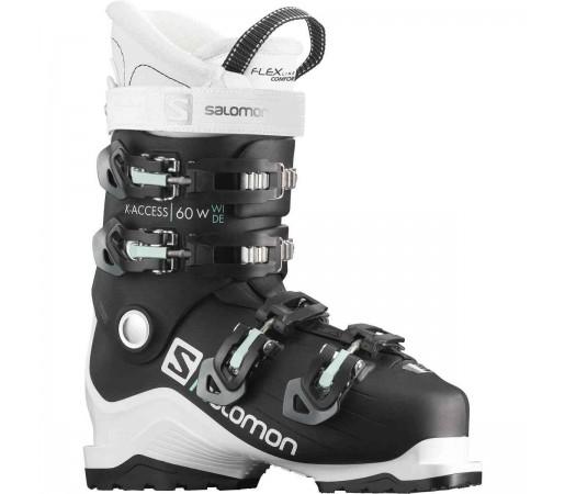 Salomon Clapari Ski X ACCESS 60 W wide Femei Negru