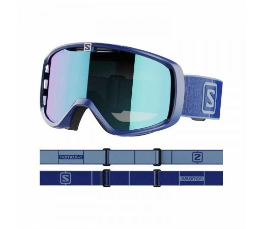 Salomon Ochelari Ski Unisex AKSIUM Navy/Uni Mid Blue (Bleumarin)