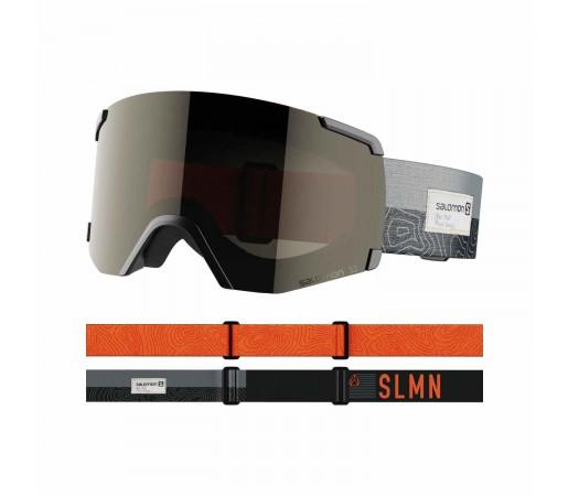 Salomon Ochelari Ski Unisex S/VIEW Bk/Sol Black (Negru)