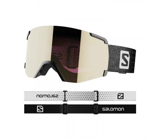 Salomon Ochelari Ski Unisex S/VIEW SIGMA Bk/Sol BlackGold (Negru)