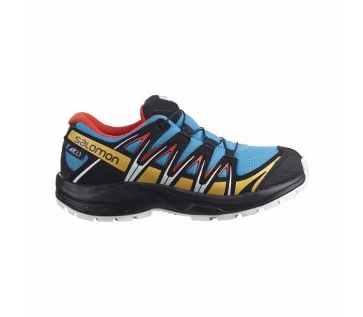 Pantofi Alergare Copii Salomon Xa Pro 3D ClimaSalomon Waterproof Junior Albastru