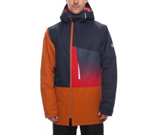 Geaca Snowboard Barbati 686 Icon Insl Bleumarin