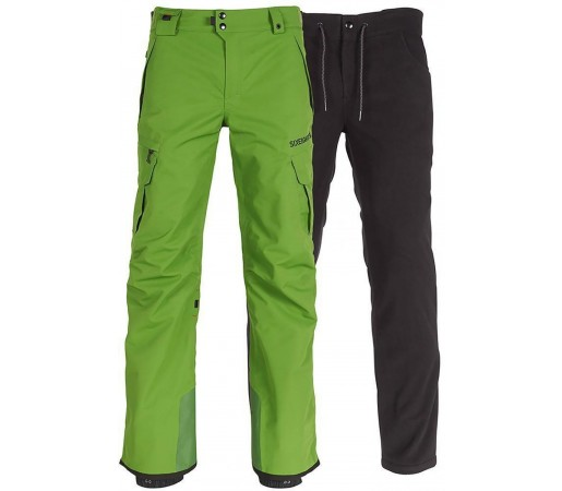 Pantaloni Snowboard Barbati 686 Smarty Cargo Verde