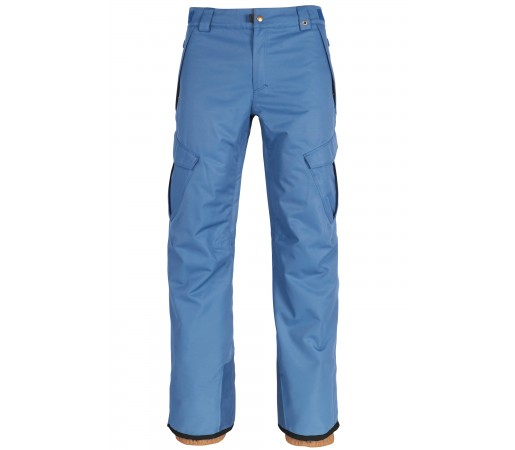 Pantaloni Snowboard Barbati 686 Infinity Insl Cargo Albastru / Gri