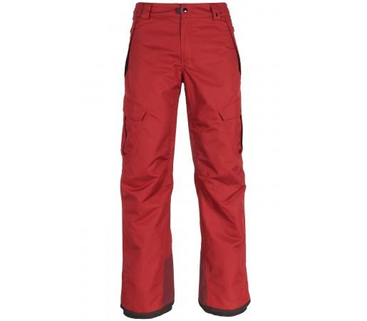 Pantaloni Snowboard Barbati 686 Infinity Insl Cargo Rosu / Gri Inchis