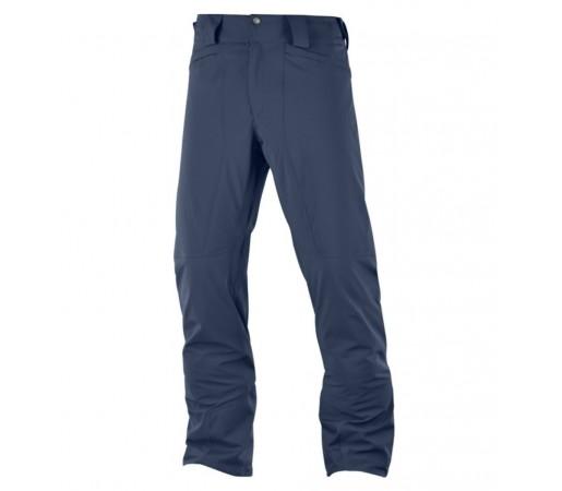 Pantaloni Ski si Snowboard Barbati Salomon Icemania Albastru