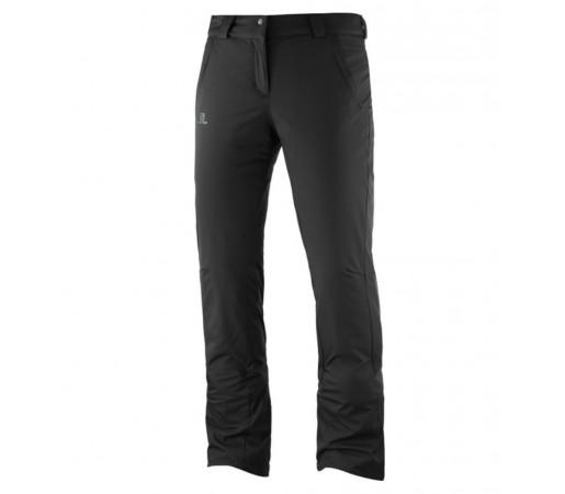 Pantaloni Ski Femei Salomon Stormseason Negru