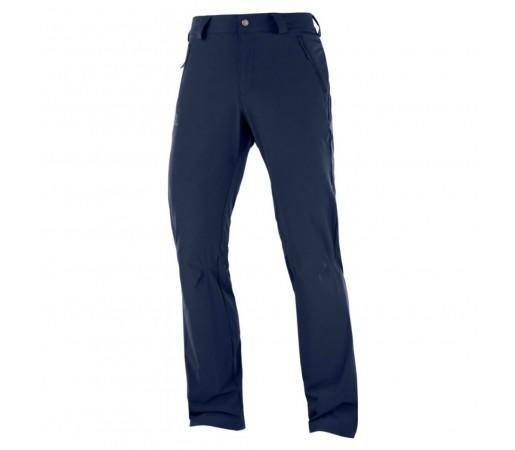 Pantaloni Barbati Hiking Salomon Wayfarer Straight LT Bleumarin
