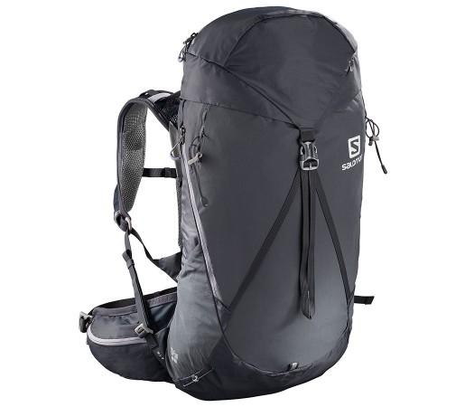 Rucsac Femei Hiking Salomon Out Night 28+5 Gri Deschis / Mov