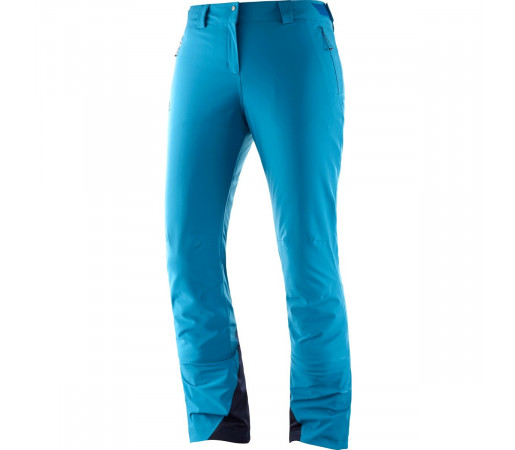 Salomon Pantaloni Ski ICEMANIA PANT Femei Albastru