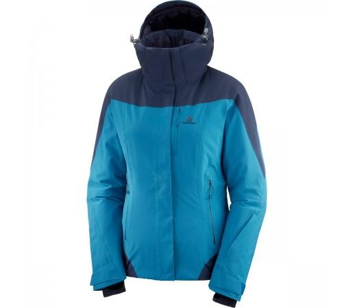 Salomon Geaca Ski  ICEROCKET JKT Femei Bleu