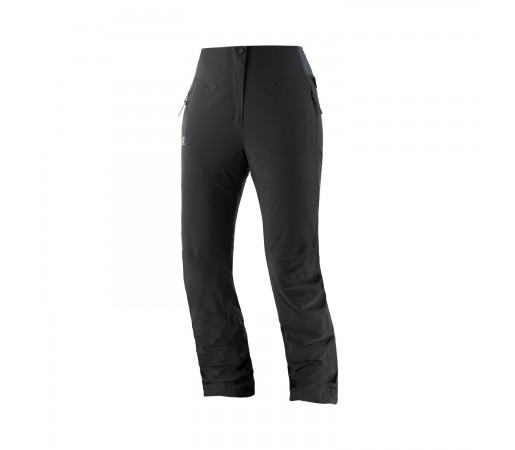Salomon Pantaloni Ski Femei WARM AMBITION PANT W Negru
