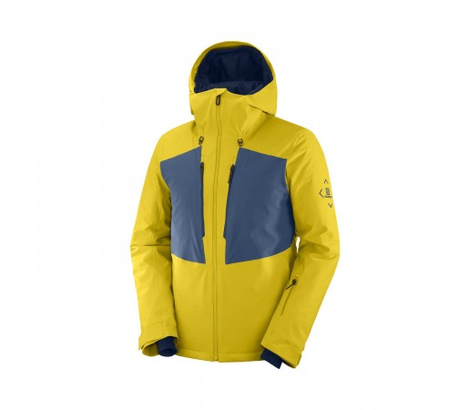 Salomon Geaca Ski Barbati HIGHLAND JKT M Galben