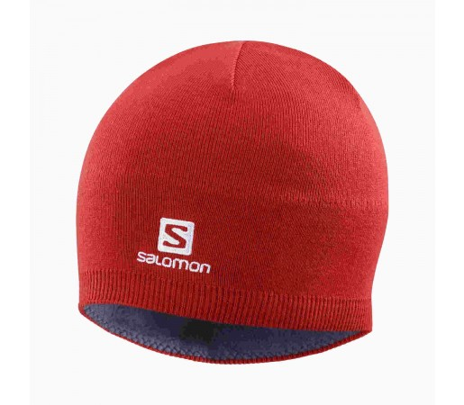 Salomon Caciula Ski Unisex SALOMON BEANIE  Rosu