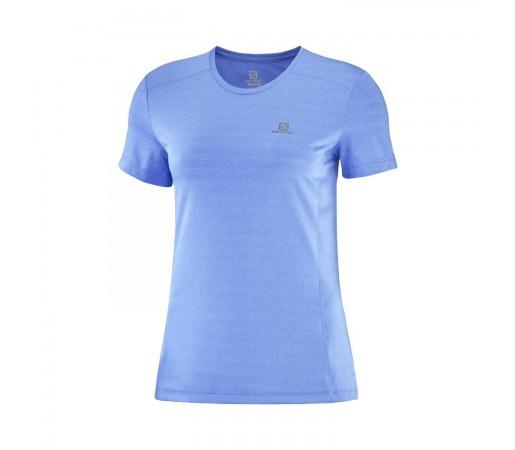 Tricou Alergare Femei Salomon XA TEE W Albastru