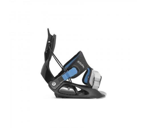 Legaturi Snowboard Flow Micron Juniori (Albastru)