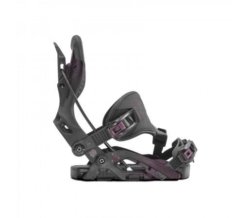 Legaturi snowboard Flow Omni Hybrid Femei (Negru)