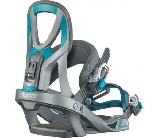 Legaturi Snowboard Salomon ARCADE Grey