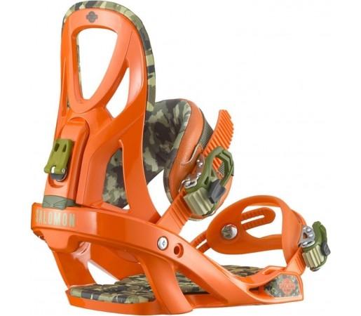 Legaturi Snowboard Salomon Arcade Orange