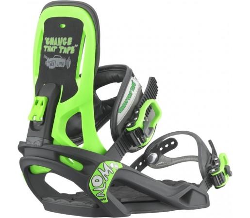 Legaturi Snowboard Salomon Boss Tape Black- Green