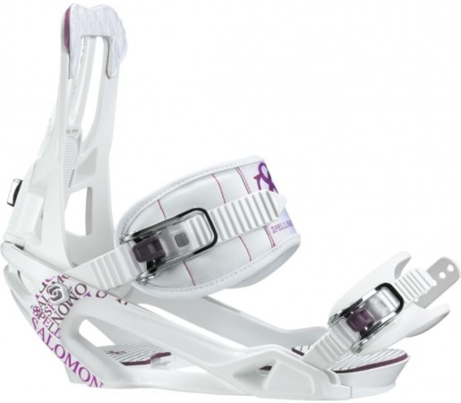 Legaturi Snowboard Salomon SPELL White