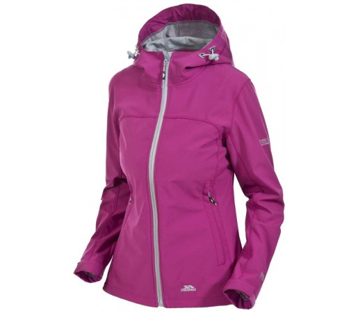 Geaca Softshell Femei Hiking Trespass Loris Roz