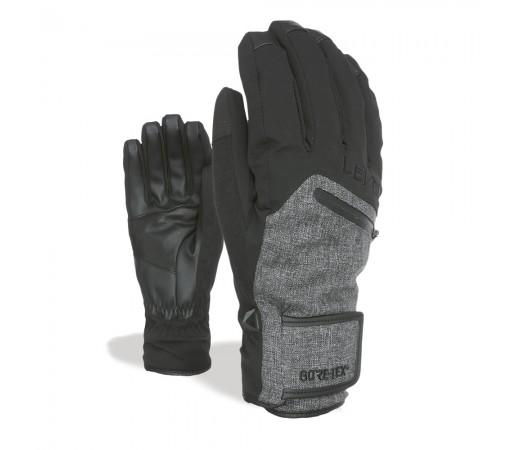 Manusi Ski Level Rescue Gore-Tex Black-Grey