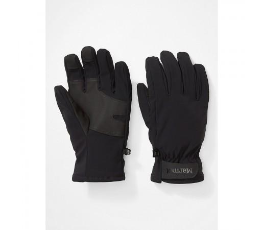 Manusi Alergare Barbati Marmot Slydda Softshell Glove Black (Negru)