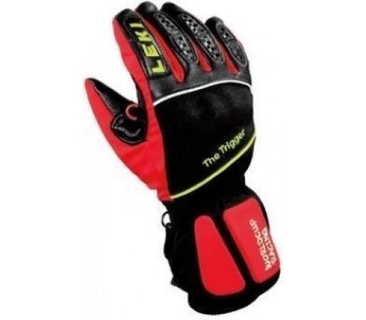 Manusi Schi Leki WC Junior GTX Black/Red