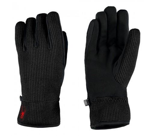Manusi Schi si Snowboard Spyder Core Sweater Conduct Negru/Rosu