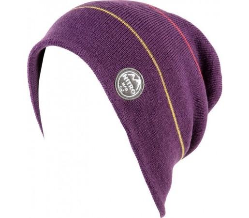 Caciula Nitro W Mini Stripe Violet