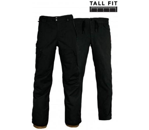 Pantaloni Snowboard Barbati 686 Smarty Cargo-Tall Negru