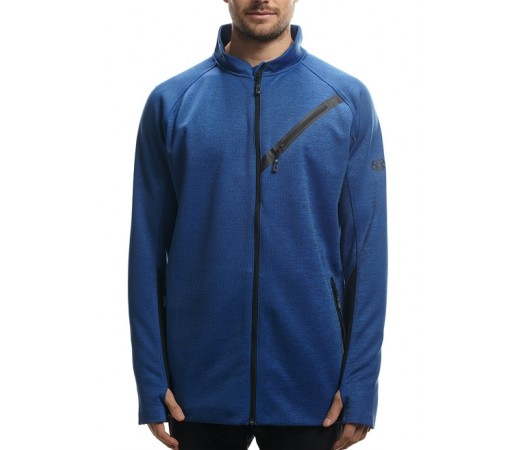 Bluza 686 GLCR Rouge Zip Tech Albastra