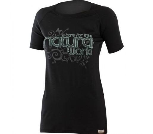 Tricou Lasting Lana Natural W Negru
