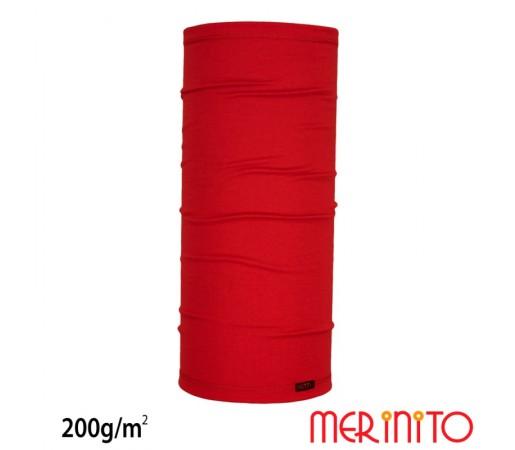 Neck Tube Merinito 200g/mp Rosu