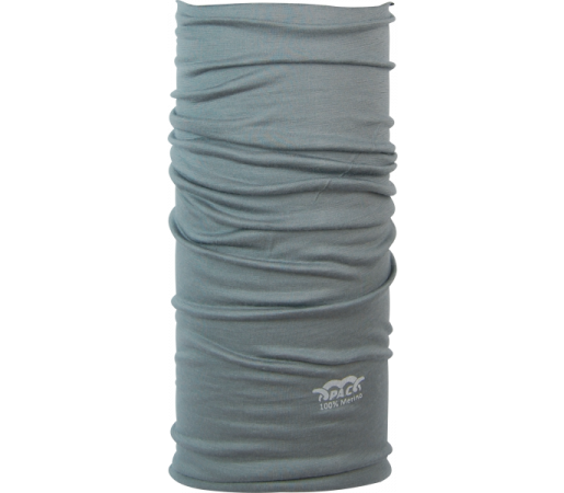 Neck Tube P.A.C. Merino Grey