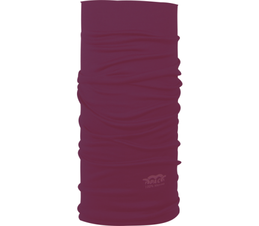 Neck Tube P.A.C. Merino Plum