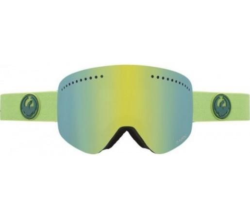 Ochelari Schi si Snowboard Dragon NFX Grass Heather Verde  / Smoke Gold + Yellow