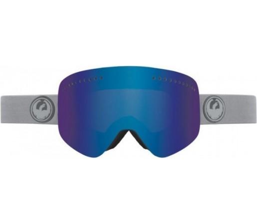 Ochelari Schi si Snowboard Dragon NFX Grey Matter Gri / Dark Smoke + Yellow