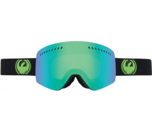 Ochelari Schi si Snowboard Dragon NFX Jet Negru / Green Ion+ Yellow Blue Ion