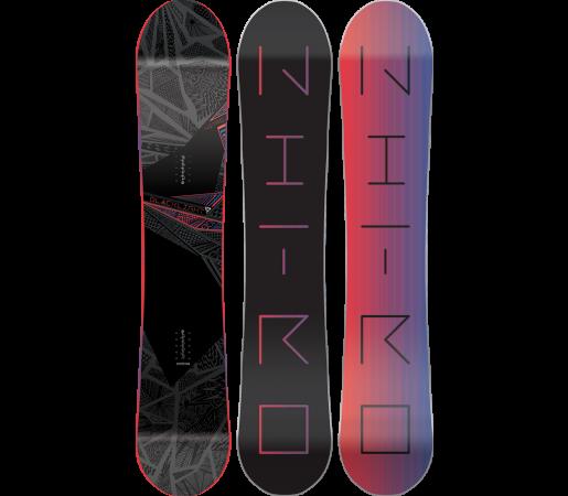 Placa Snowboard Nitro Blacklight 2016