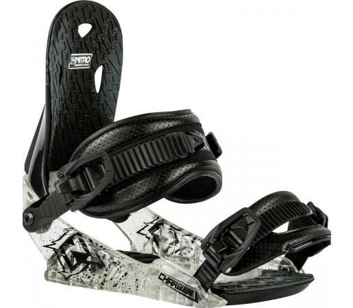 Legaturi Snowboard Nitro Charger Negre