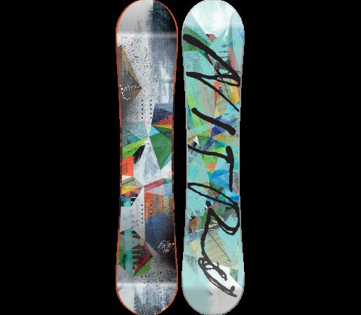 Placa Snowboard Nitro Fate 2016